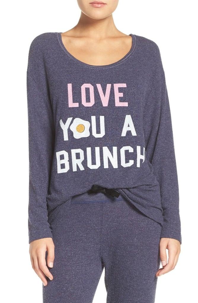 Love You a Brunch Hacci Sweatshirt ($65)