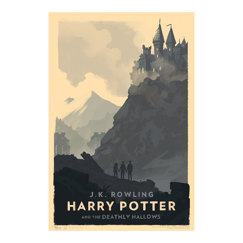 Harry Potter And The Deathly Hallows Poster ($50)