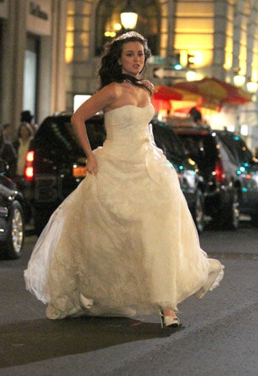 Gossip Girl Blair S Wedding Dress Popsugar Entertainment