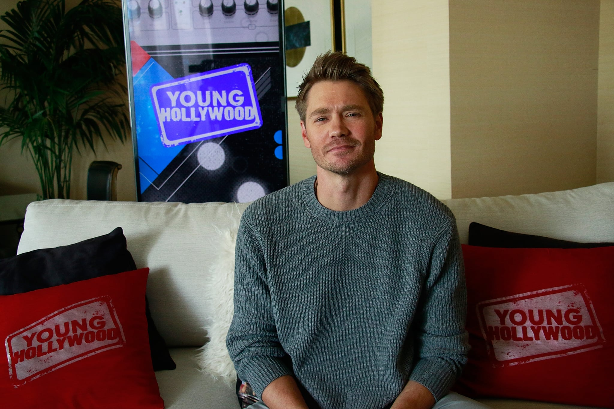 LOS ANGELES, CA - November 21: (EXCLUSIVE COVERAGE) Chad Michael Murray visits the Young Hollywood Studio on November 15, 2017 in Los Angeles, California. (Photo by Derek Martin/Young Hollywood/Getty Images)