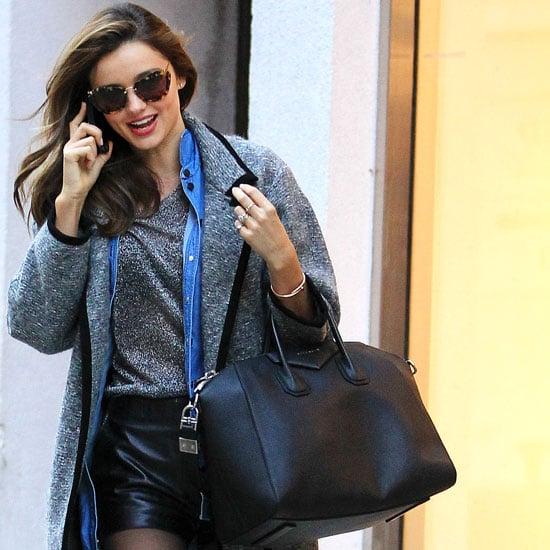 Miranda Kerr Wear Isabel Marant Khan Coat 5 Times!