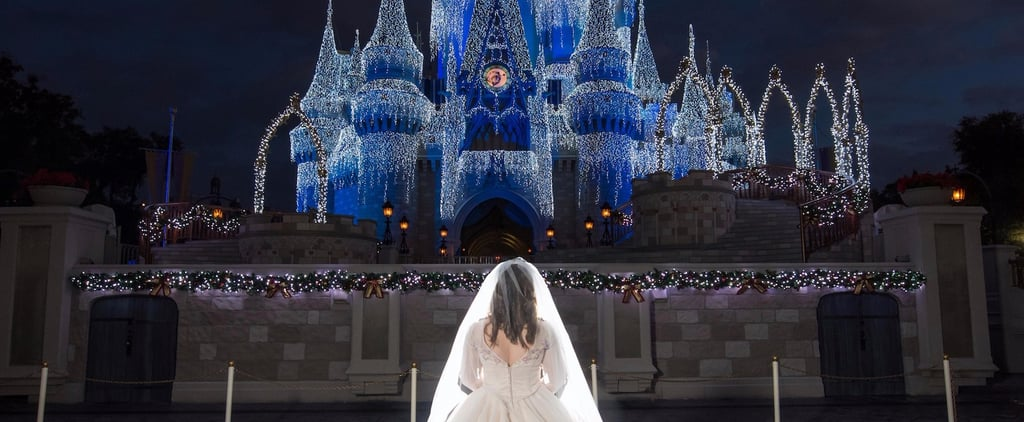 The Bride in This Disney World Wedding Wore the Live-Action Cinderella Gown!