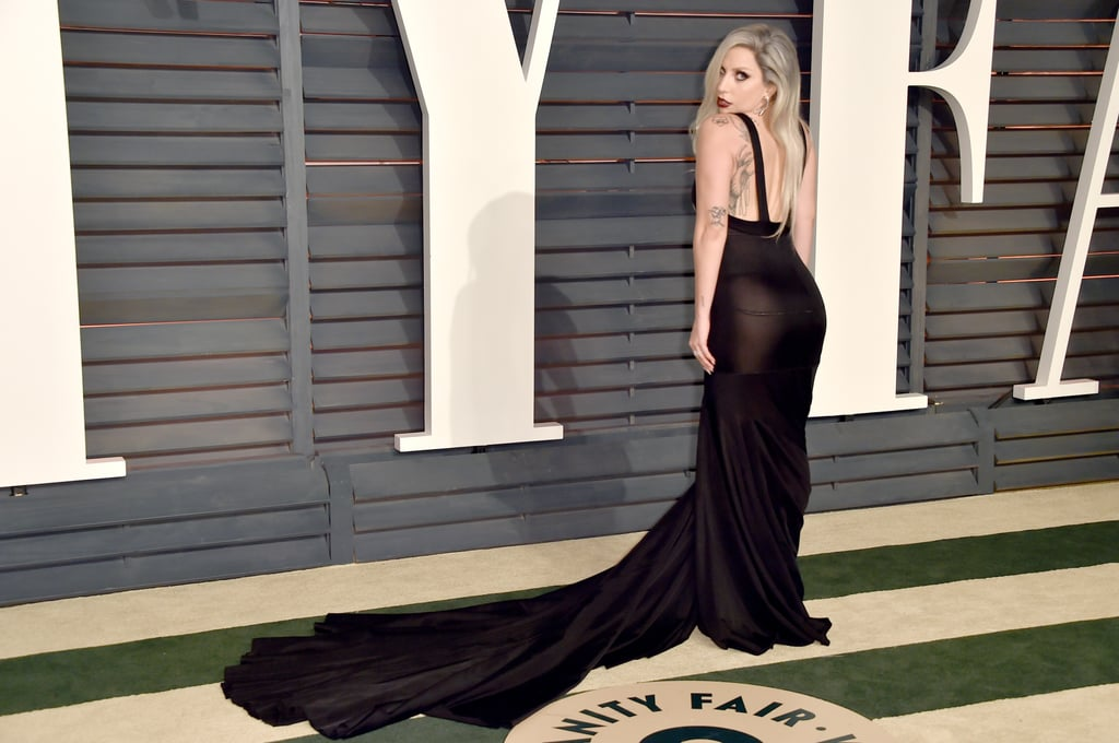 But she pulled it together for Vanity Fair's afterparty.