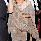 Barbra Streisand Wore a Sweater Dress