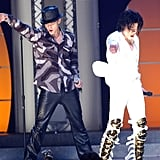 Justin Timberlake and MJ performed together at his 30th Anniversary Special in NYC in September 2001.