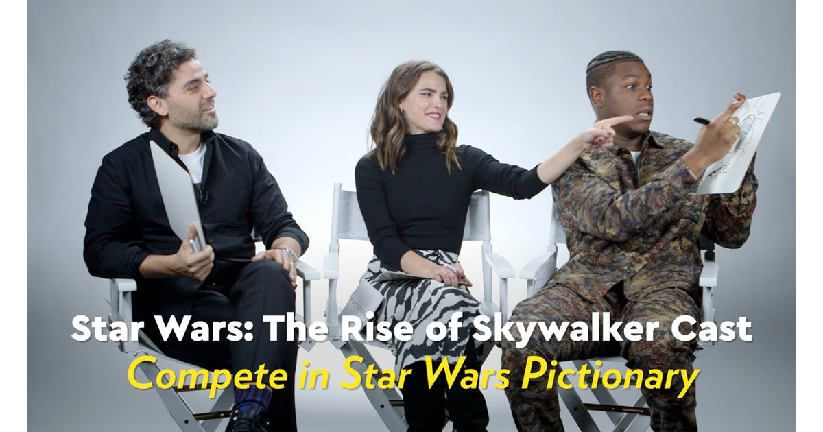 Star Wars The Rise Of Skywalker Interview Video Popsugar