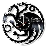 Game of Thrones Vinyl Clock
