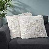 Genova Faux Fur Throw Pillow Cover
