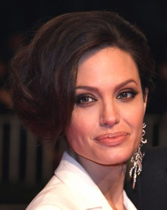 Angelina Jolie's Hair at the Berlin Premiere of Benjamin Button