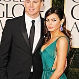 Channing Tatum and Jenna Dewan-Tatum make their way in.
