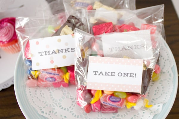 Chic Party Labels by Falala Designs