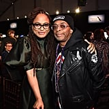 Pictured: Ava DuVernay and Spike Lee