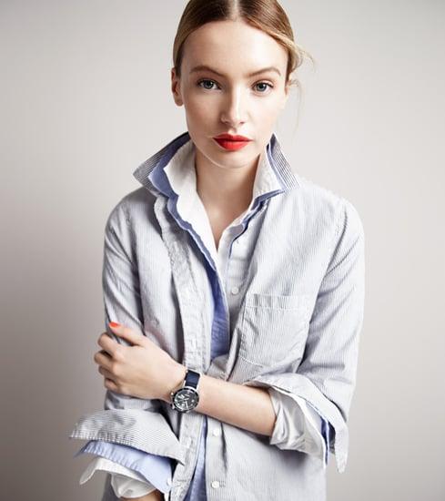 J.Crew's Layered Collar Trend