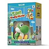 For 7-Year-Olds: Yoshi's Woolly World and Green Yarn Yoshi Amiibo for Wii U