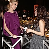 Julie Bowen and actress Ariel Winter share a moment.