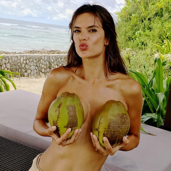 Alessandra Ambrosio's Bikini Photos in the Maldives 2016