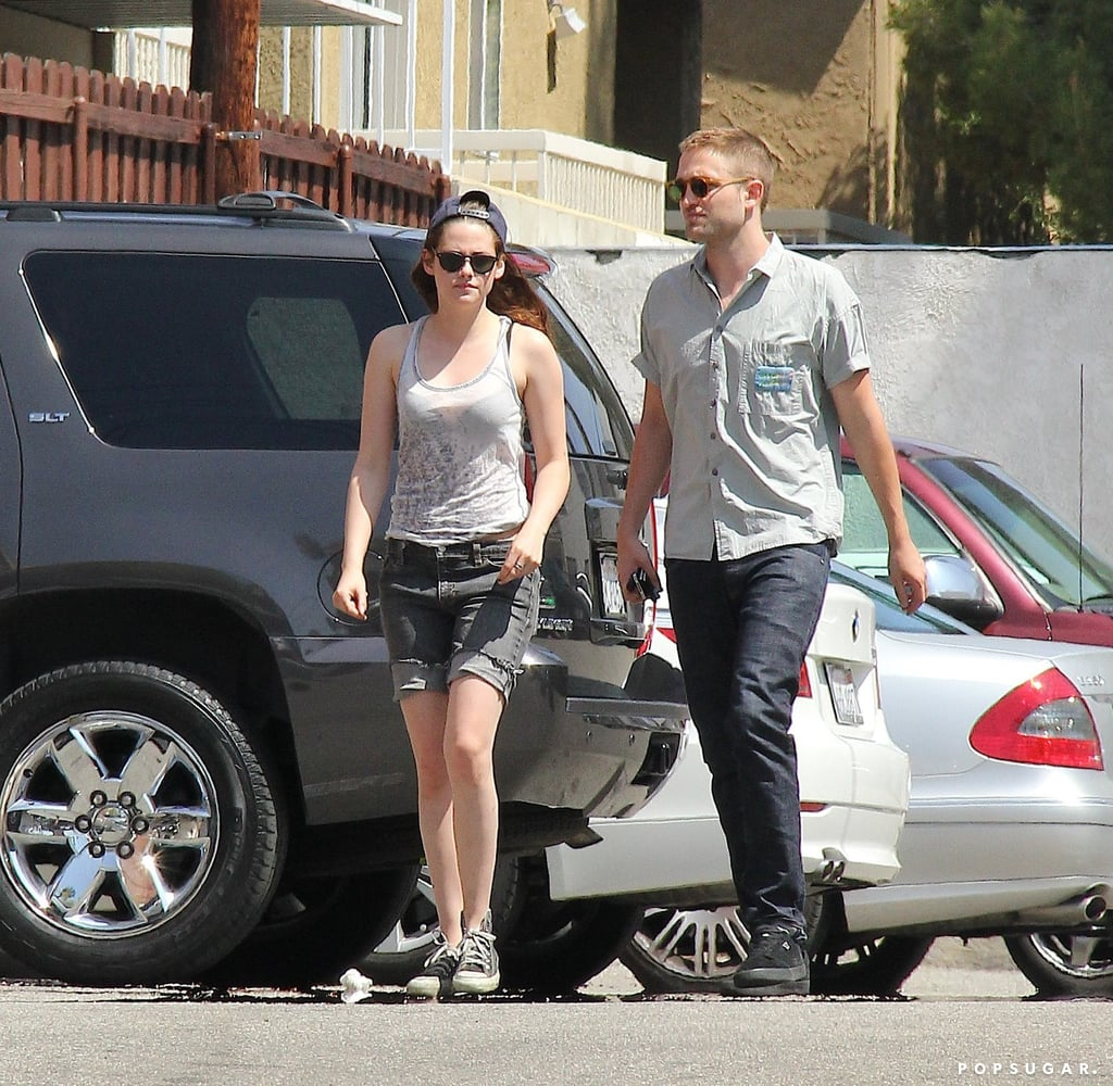 Rob and Kristen Share a Sweet Sushi Date