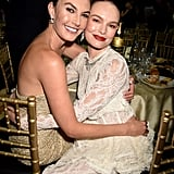 Pictured: Elizabeth Chambers and Kate Bosworth