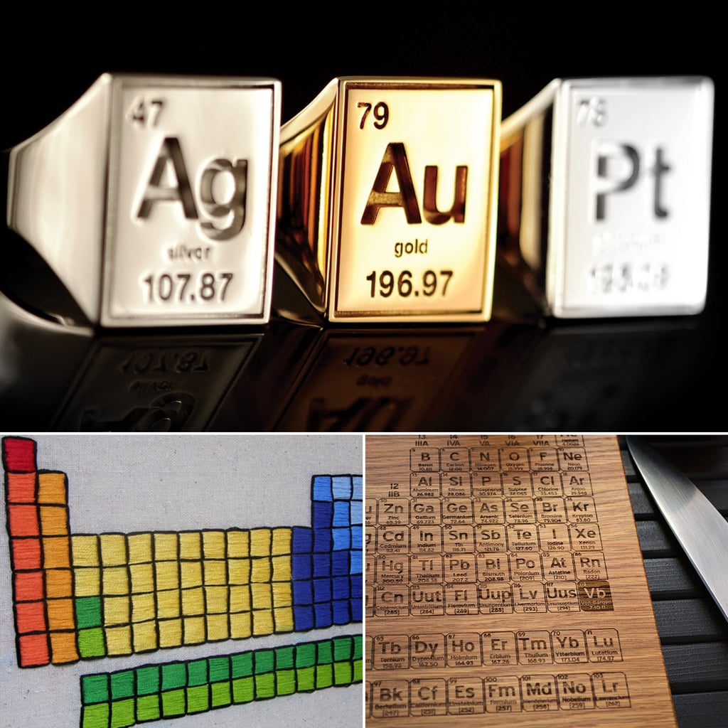 Periodic table gifts popsugar tech periodic table gifts urtaz Gallery