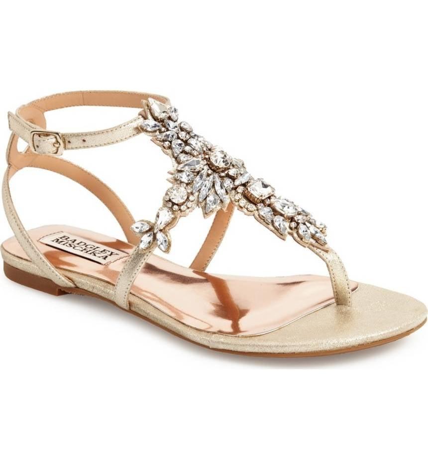 Image result for Bridal Sandals Flat