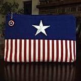 Captain America Makeup Bag
