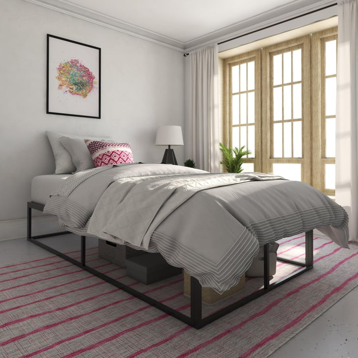Novogratz boutique metal storage platform bed best cheap - Best platform beds with storage ...