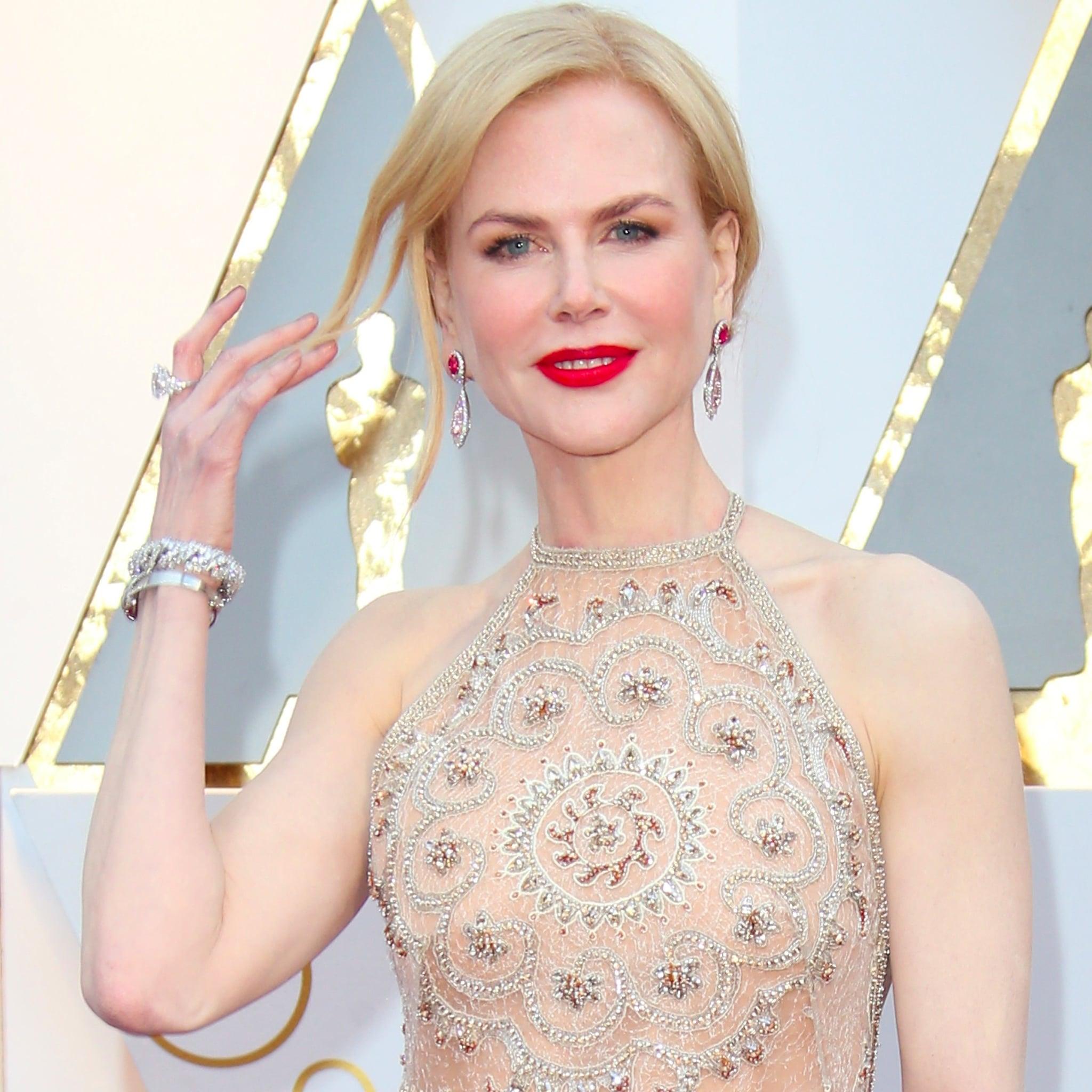 Nicole Kidman\'s Rings at the Oscars 2017   POPSUGAR Fashion
