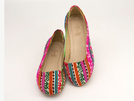 Colorful Ballerina Shoes