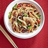 Shrimp and Rice Noodle Stir-Fry
