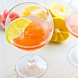 Light Citrus Winter Paloma Cocktail