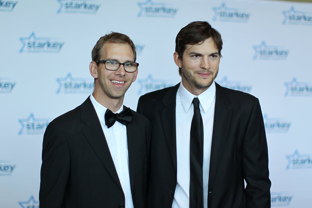 Ashton and Michael Kutcher