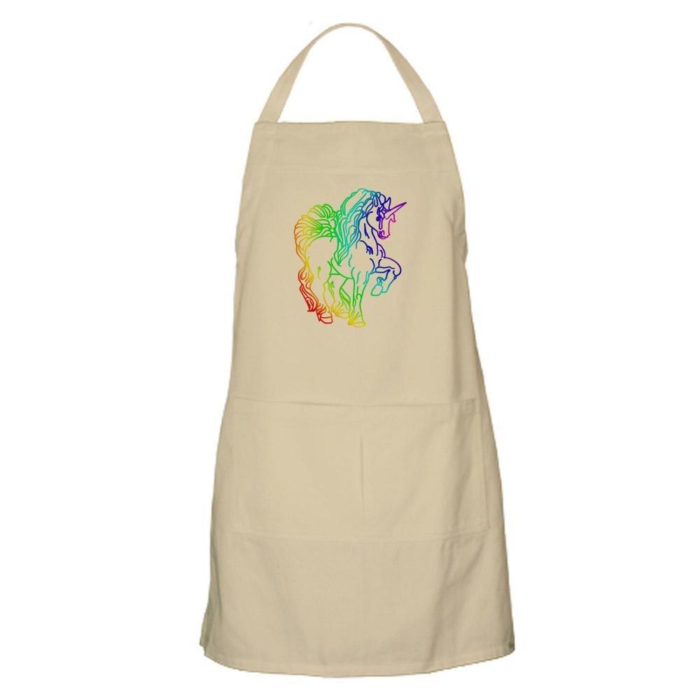 Rainbow Unicorn Apron