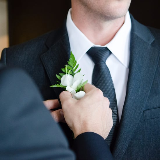 A Legally Blind Man Wears Special Glasses at His Wedding