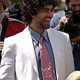 Adrian Grenier was spotted in the 2008 crowd.