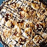 Fluffy No-Bake Chocolate Banoffee Pie