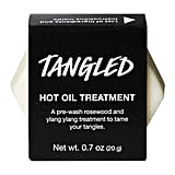 Lush Tangled Hot Oil Treatment ($11)
