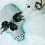 3d3a140158af103ec20e04.96324234 edit img image 18207884 1487867430 Goth Queens, You Can Now Wash Away Your Sins With This Skull Bath Bomb