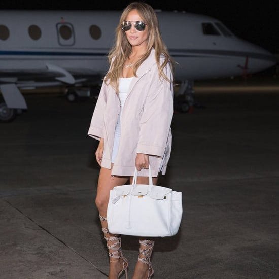 Jennifer Lopez Travel Style