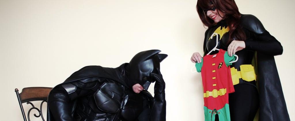 Batman and Batgirl Sidekick Pregnancy Announcement