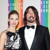 Jordyn Blum and Dave Grohl arrived at the Kennedy Center.