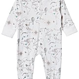 Livly Pink World Map Babygrow ($47)