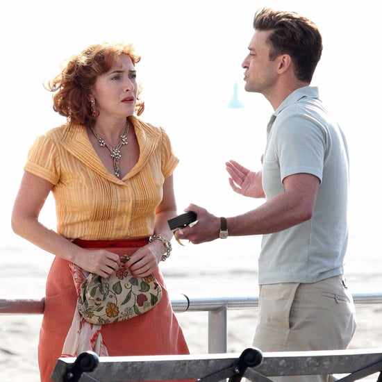 Justin Timberlake and Kate Winslet Filming Woody Allen Movie
