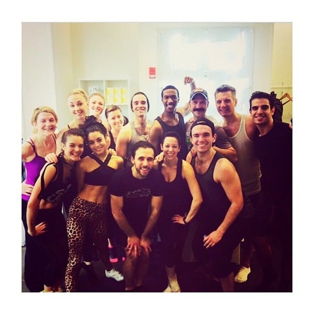 Looks like Vanessa Hudgens is a SoulCycle enthusiast! She hit up a morning ride with the cast of her Broadway revival of Gigi.