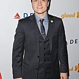 Josh Hutcherson wore a three-piece suit.