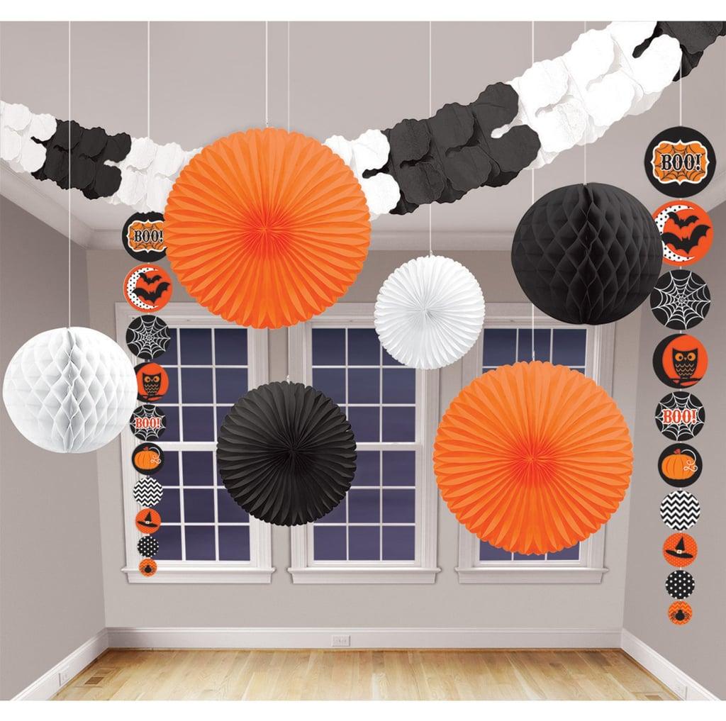 Modern Halloween Decor: Modern Halloween Decorating Kit ($12, Originally $18