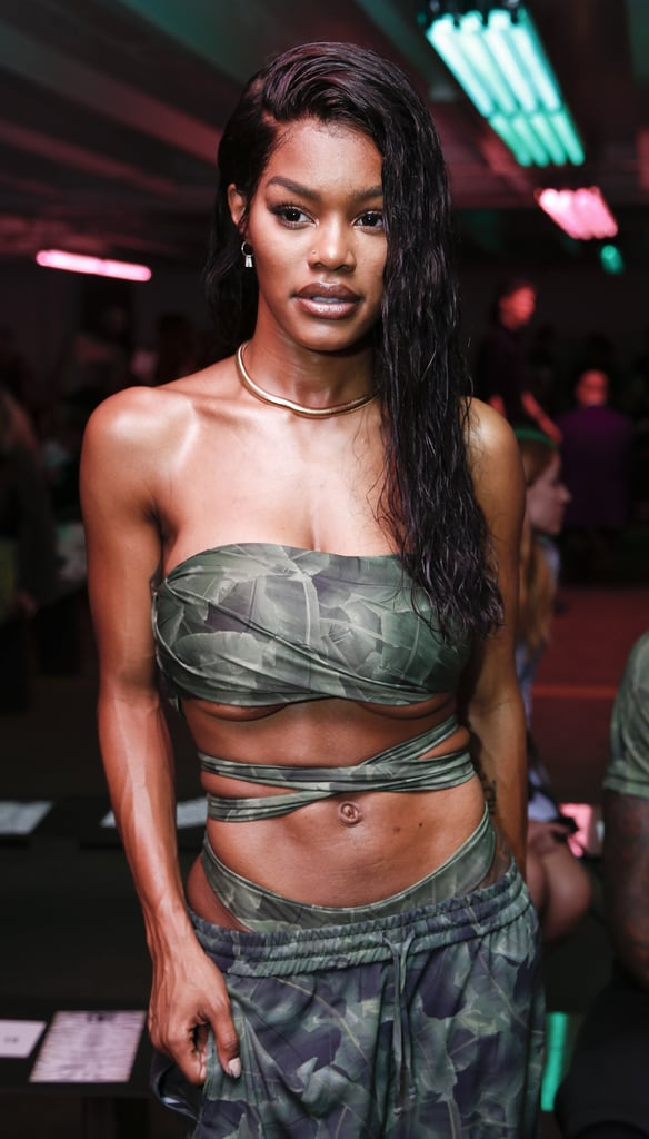 As Is Teyana Taylor, Who Embraced the Trend Both on and Off the Runway