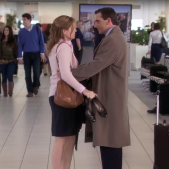 What Did Pam Say to Michael at the Airport on The Office?