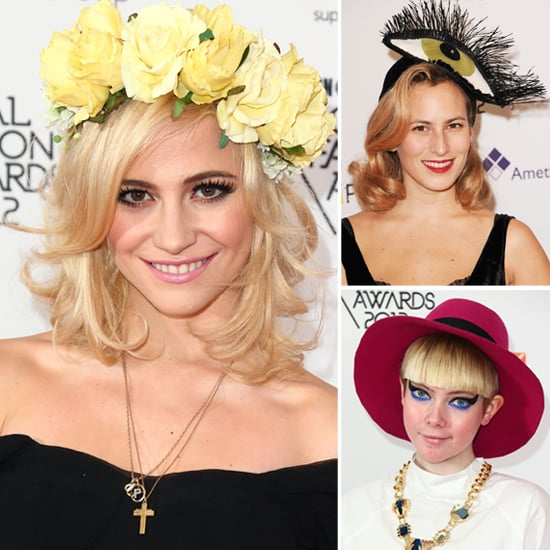 Hats from the WGSN Global Fashion Awards