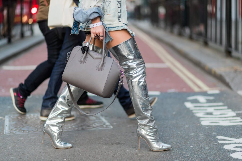 How to Wear Silver Shoes and Boots