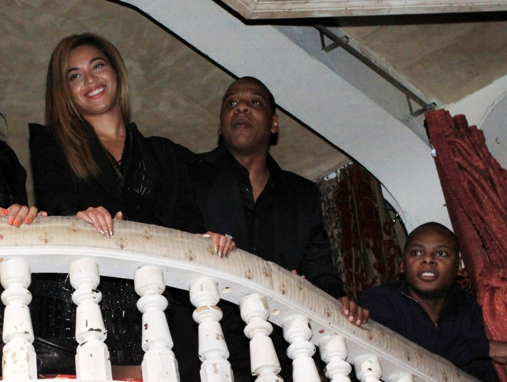 Jay-Z and Beyonce at Experience the Turn in New York